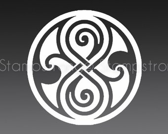 3.5 IN Seal of Rassilon Gallifrey Doctor Who Decal Sticker Prydonian Tardis Gallifreyian