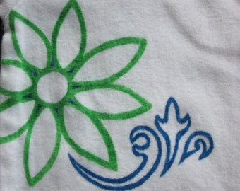 Gender Neutral Flower Infant Onesie