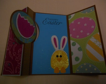 Cute Easter bunny card