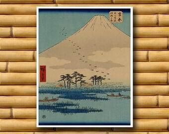 Japan Art Print Asian Decor Vintage Japanese Poster (J91)