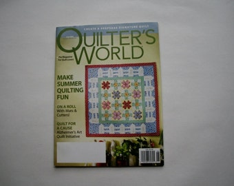 Quilters World Magazine June 2009 Back