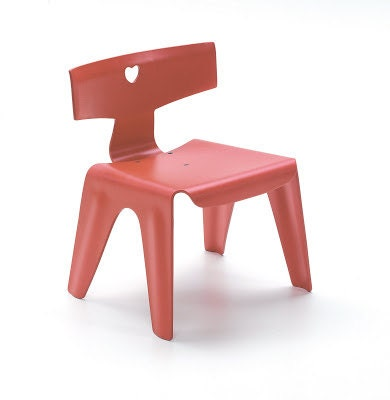 Ray eames children chair for Chaise eames pour enfant