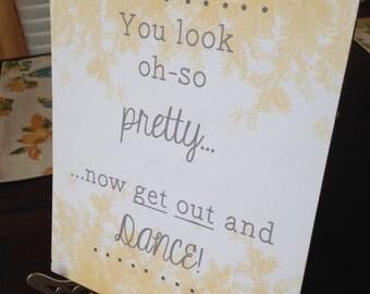 Wedding Restroom Sign -- Digital File