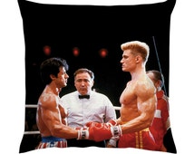Rocky Balboa V Ivan Drago Cushion/Pillow 18""