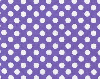 Robert Kaufman 100% Cotton from Spot On Violet Purple