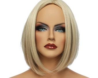 Classic Cap women Synthetic straight Short Pure Diamond full wig HengFeng ZP25   SKU: 10C11