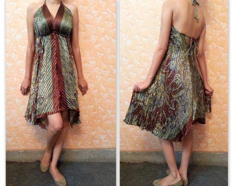 Beautiful Backless / Halter dress to give you some nice sun exposure.