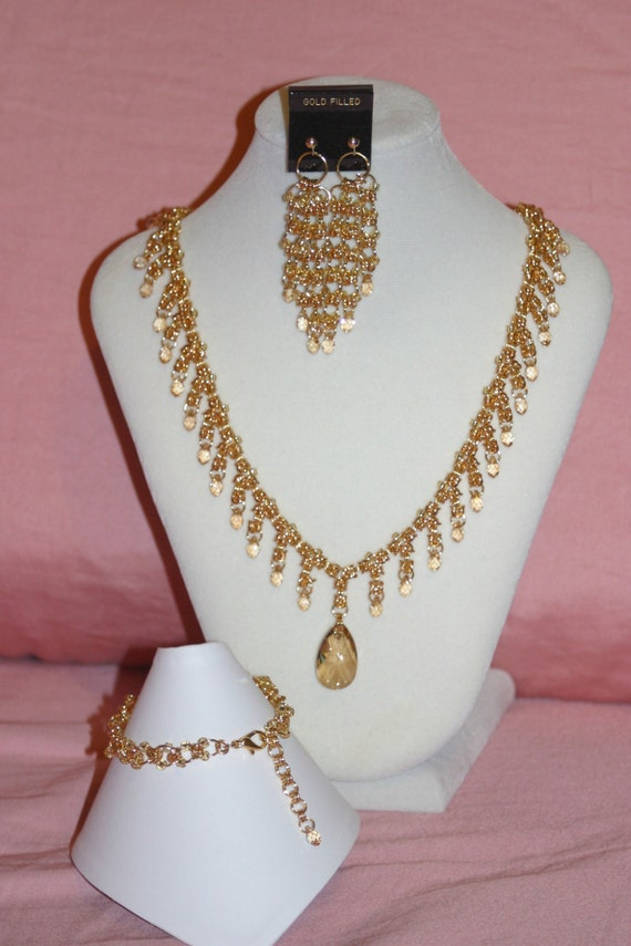 Swarovski Crystal Bridal / Formal Set