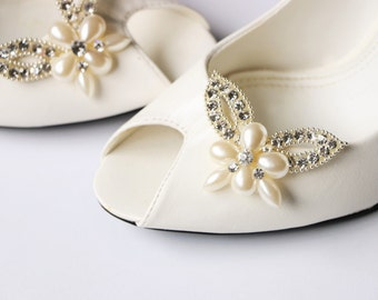Bridal Shoe Clips , Rhinestone shoe clips,Shoe Clips,wedding shoe clips,vintage wedding