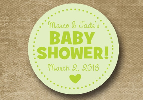 personalized baby shower stickers baby shower gift tags baby shower