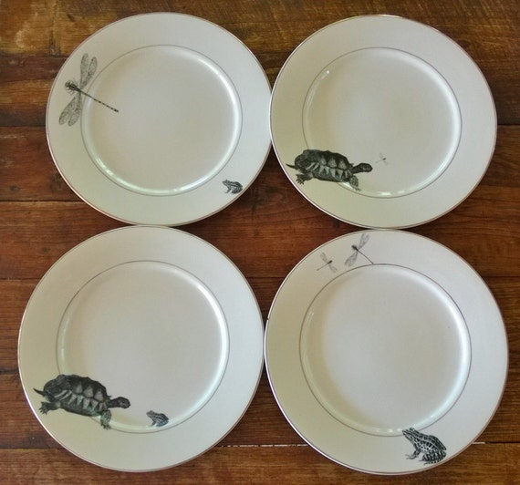 SALE Natural History Dinner Plates