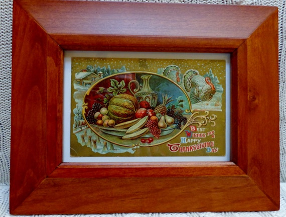 Thanksgiving Decorative Picture Frames Page Three