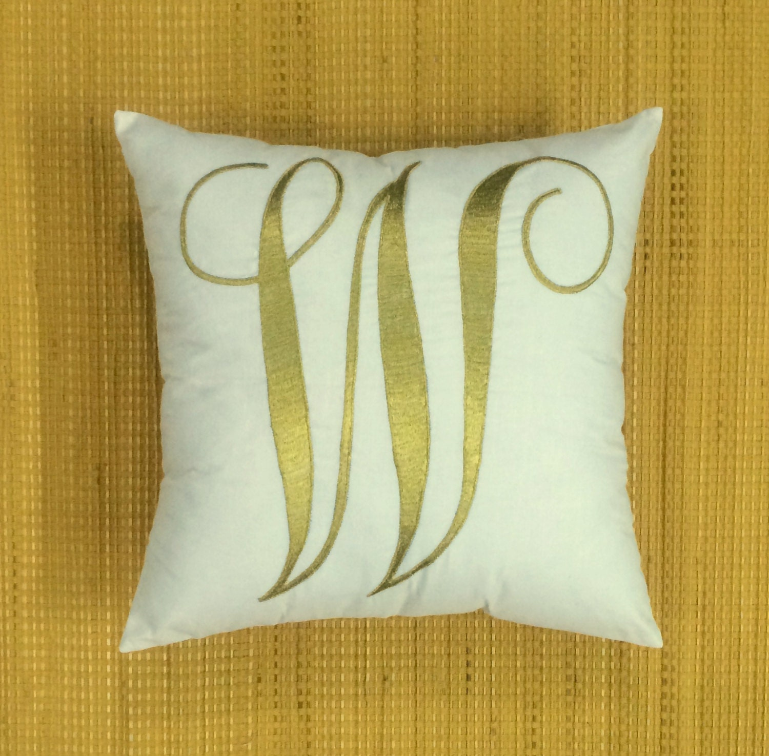 Decorative Initial Pillows : 40%OFF Initial Letter Pillow Decorative Personalized by NeaPillows