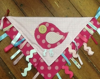 Baby Taggy Blanket SEWING PATTERN