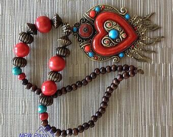 Casablanca Vintage Moroccan Necklace ( Free Shipping)