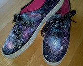 GALAXY SHOES!  Hand painted sneakers... (Women and children)