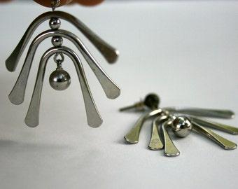 Women's Sterling Silver, Dangle Earrings