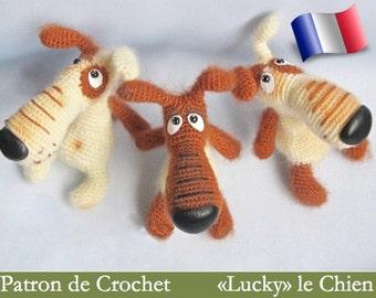 037e amigurumi crochet pattern. Lucky the dog. PDF file. By Borisenko Etsy