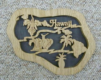 Hawaii State Plaque