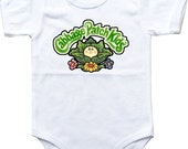 Baby bodysuit Cabbage Patch Kids 2 One Piece Bodysuit Funny Baby Child boy girlen's Clothing Kid's Shower boy girl Halloween costume