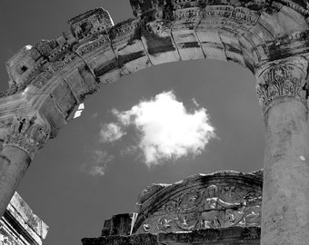 Greek ruins at Ephesus, Turkey.