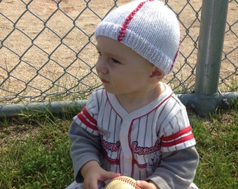 Soft Knit Baseball Hat