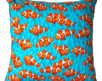 orange clownfish cushion/pillow