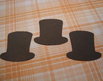 Top Hat Confetti, Wedding Confetti, Paper Confetti, Black Confetti, Envelope Confetti, Hipster Confetti, Shower Confetti, Party Confetti