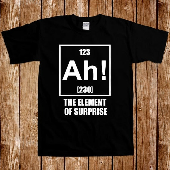 Funny Chemistry T Shirt Gift For Geek Nerd Science Tshirt Tee
