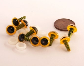 9 mm Safety Eyes for Crochet - Hand Painted