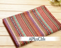 bohemian fabric,linen fabric,colorful cotton fabric,floral linen cotton fabric,modern upholstery fabric,handbag fabric,stripe drapery fabric