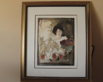 """Janet Treby, """"Muse II"""", Limited edition, Serigraph print"""