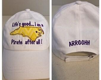 East Carolina University Embroidered Baseball Cap