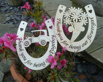 Flowergirl or Pageboy Horseshoe