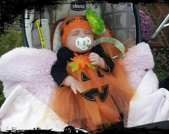 Halloween Costume Handmade Gorgeous Pumpkin/Jack-o-lantern