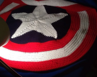 Captain America  blanket