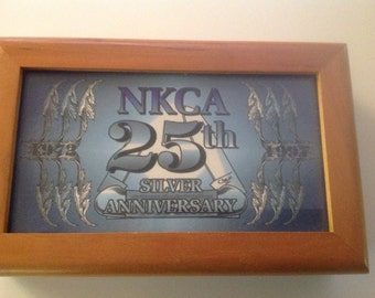 Case collectable NKCA 25th anniversary.