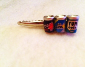 Soda Cans Barrette