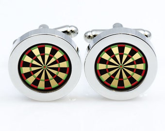 Darts Cufflinks Darts Cuff links for men and for women Accessories