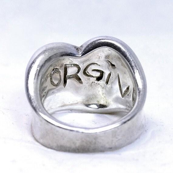 Robert Lee Morris Forgive Ring