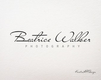 Photography Logo - Customized for any business logo - Premade Photography Logos- Watermark 093