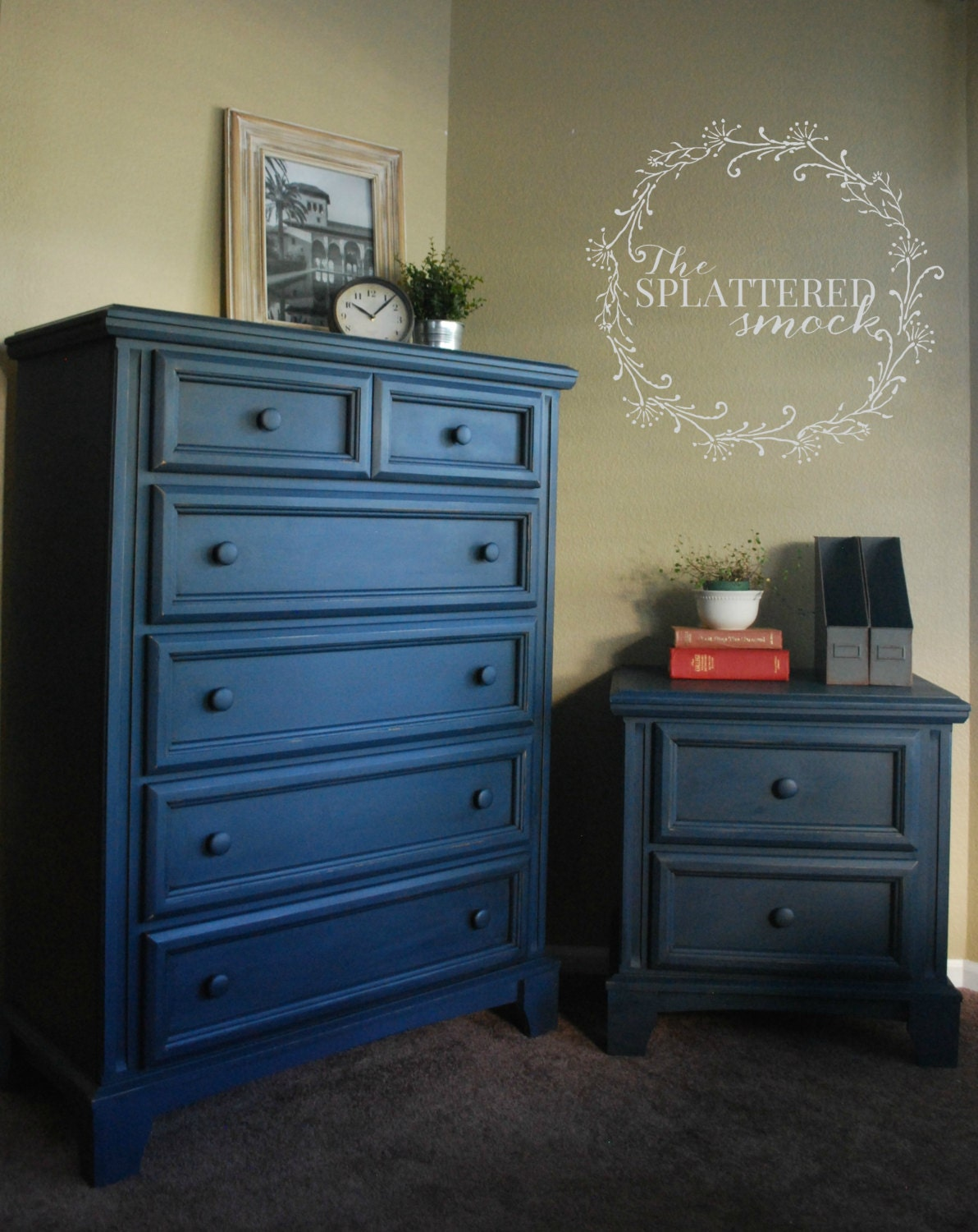 Sold Custom Painted Dressers In Annie By Thesplatteredsmock