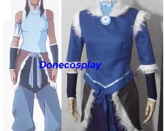 New arrival !Avatar The legend of Korra Korra cosplay costume any size