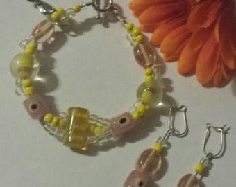 All-seeing eye bracelet set