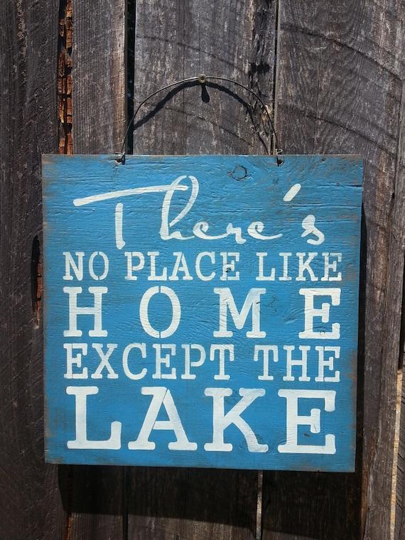 Lake Sign, lake house decor, lake house art, cabin sign, lake house, lake decoration, lake house wall art, lake tahoe, lake michigan, 123