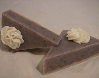 Lavender-Cheesecake Soap