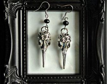 Birdskull Earrings