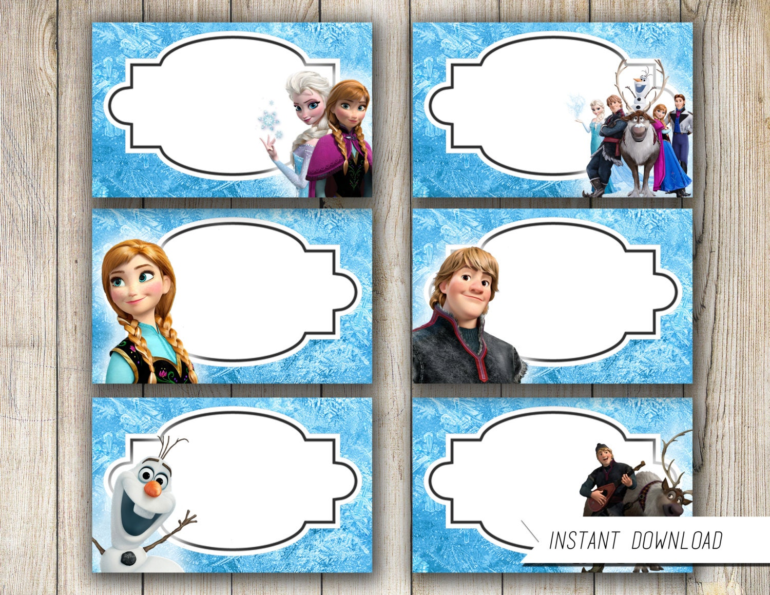 frozen food labels party printables free Car Tuning