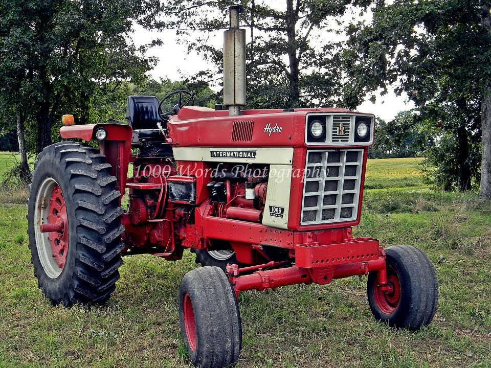 Tractor print tractor photo tractor poster international for International harvester wall decor