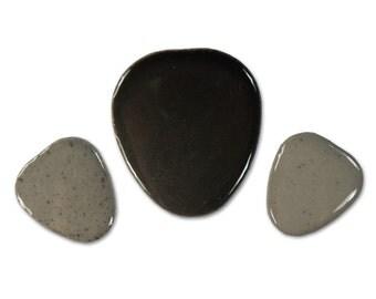 Grey Pebble Assortment - 1 lb Bags